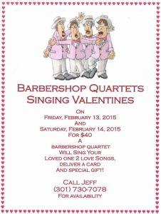 Singing Valentines
